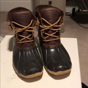 sperry topsider womens boots